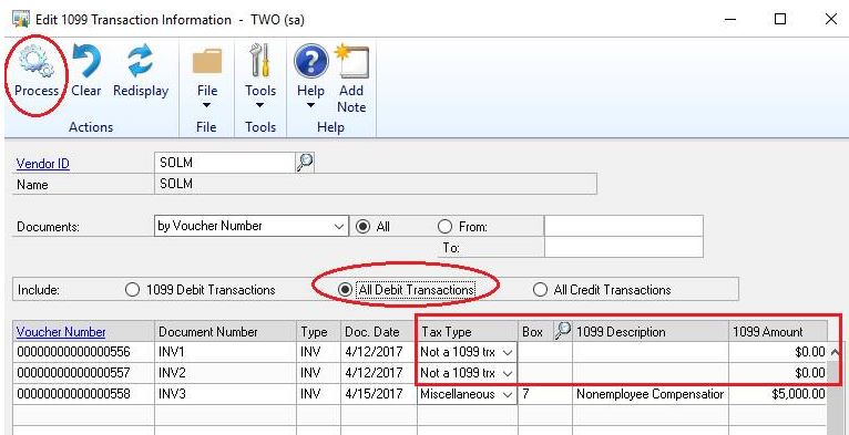 Editing Made Easy For 1099s In Microsoft Dynamics Gp Microsoft