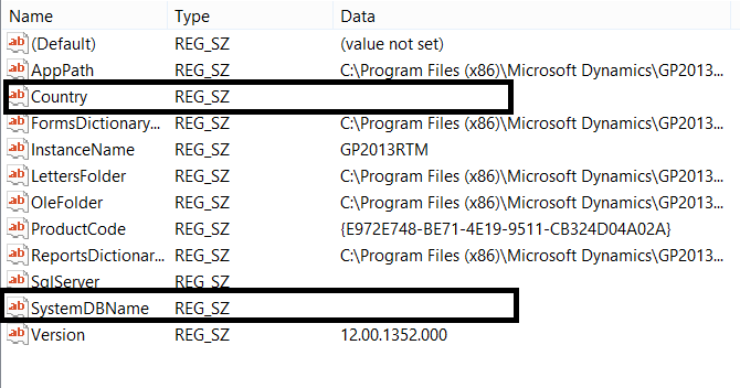 Microsoft Dynamics GP 2013  MSP Patch Files Removing