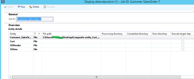 How to import composite entity through data import /export