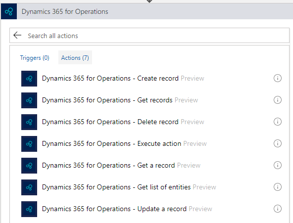Dynamics 365 for Operations and Logic Apps - How to get one record