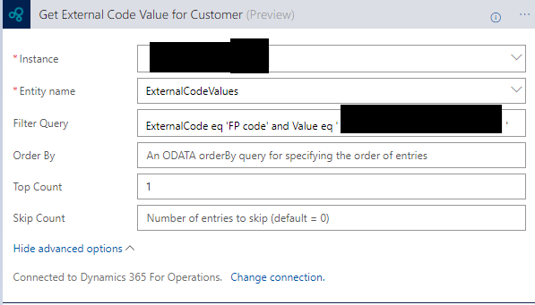 Dynamics 365 for Operations and Logic Apps - How to get one