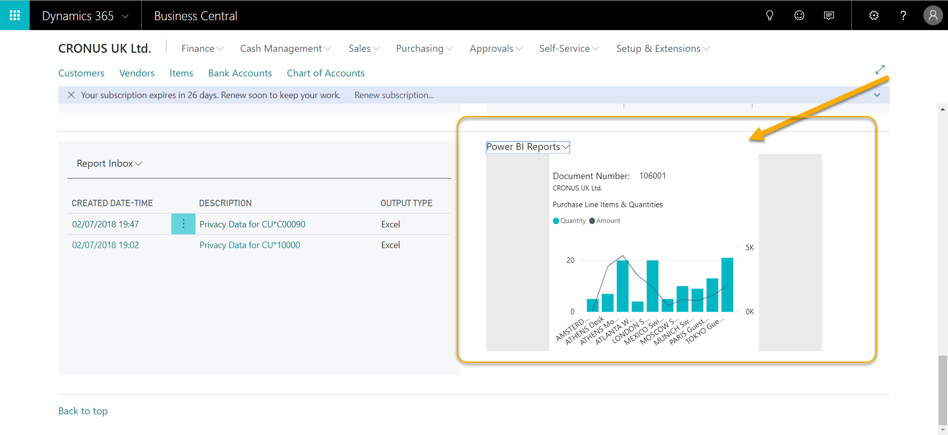 Dynamics 365 Business Central and Power BI  How to setup