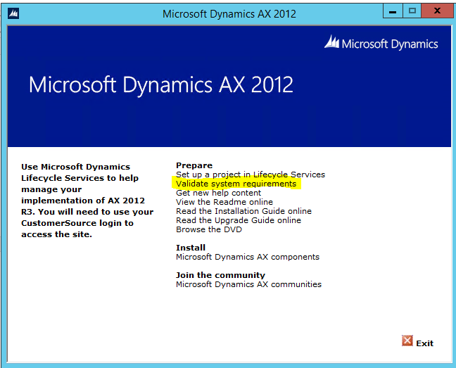Moving AX 2012 AOS Instance to a new server in the same domain