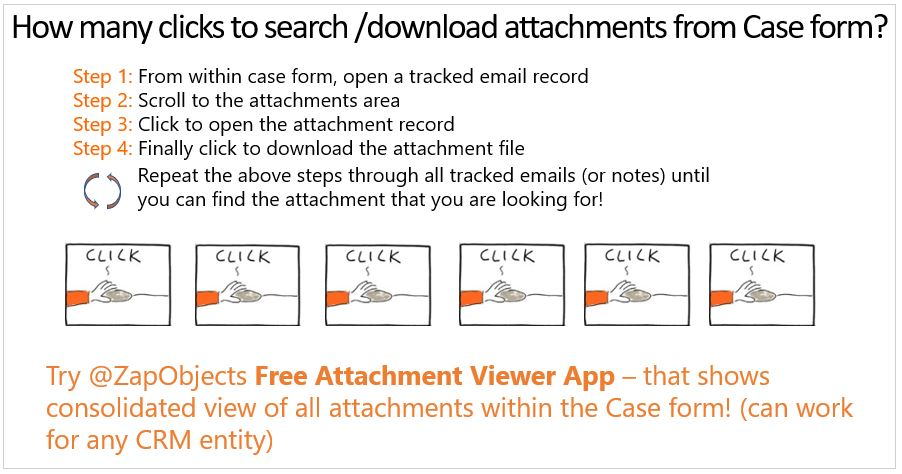 How to view consolidated list of all attachments within the
