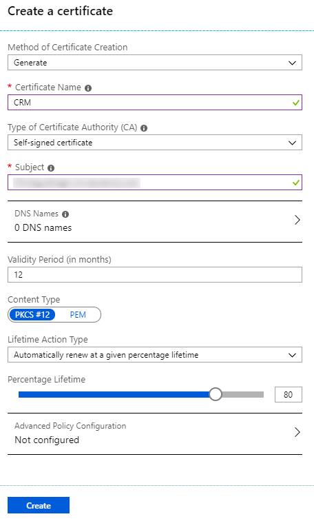 Certificate-Based Authentication with Dynamics 365 and Azure
