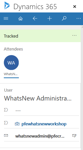 Dynamics 365 App for Outlook Part 5-Working with Appointments