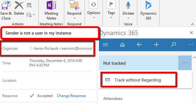 Dynamics 365 App for Outlook Part 5-Working with