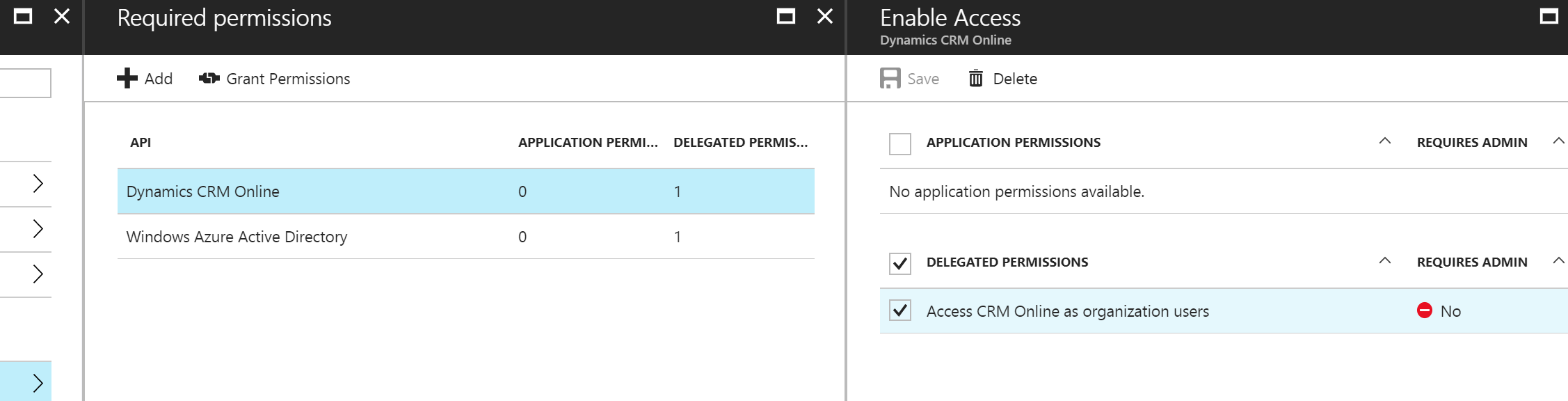 OAuth2 login to dynamics failed with 401 - Microsoft