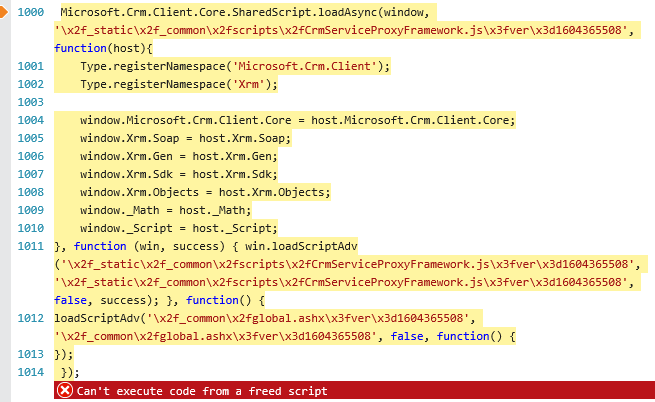 Form not rendering properly - Microsoft Dynamics CRM Forum Community