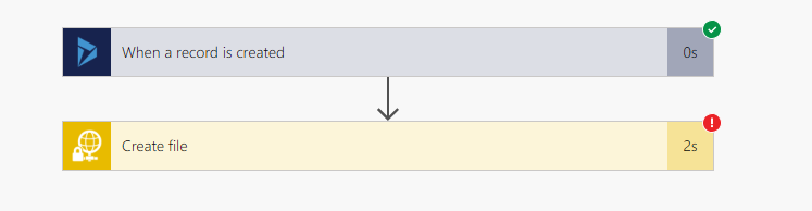 MS Flow: A reference was made to a file or folder which does