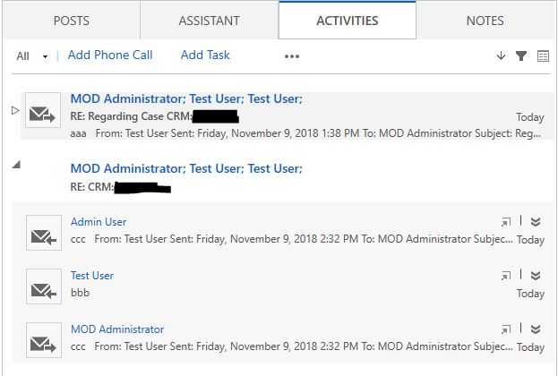 Automatic Tracking for Incoming Mail (Outlook --> Dynamics