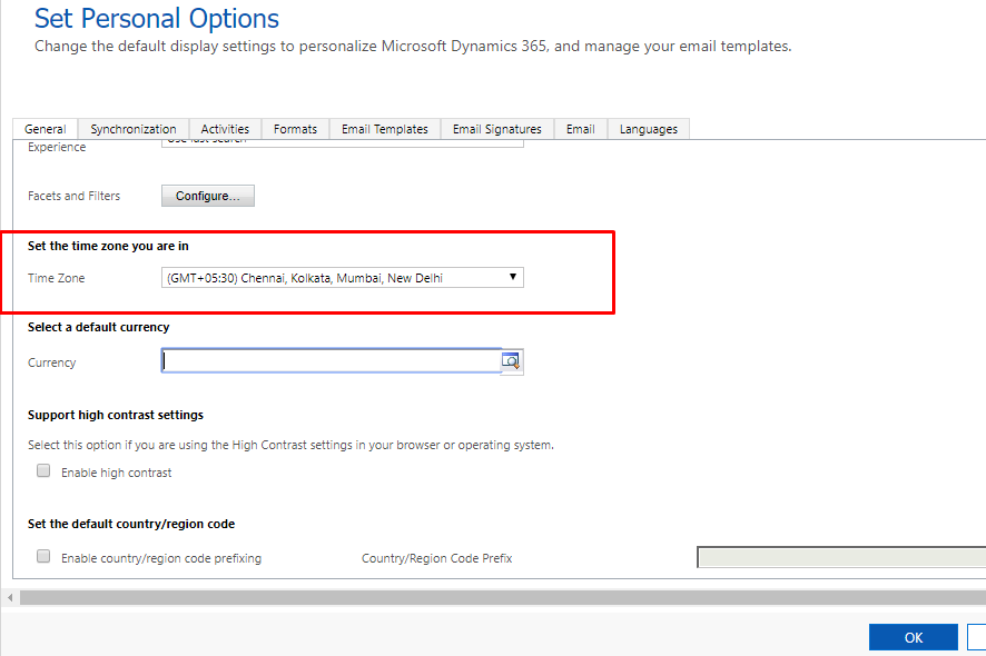 Task Synchronization from Dynamics 365 to Outlook incorrect