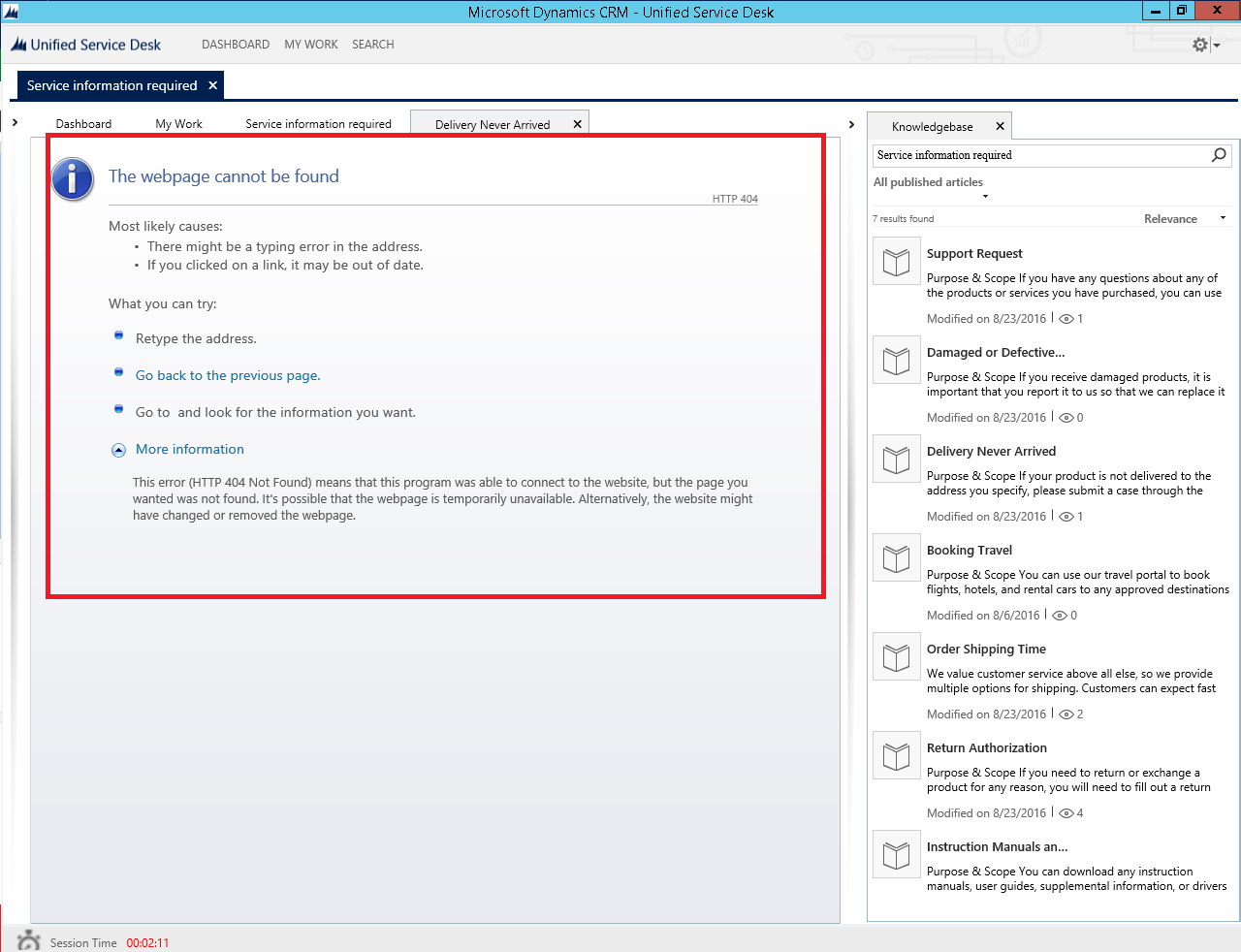 USD - KB not available for preview - Microsoft Dynamics CRM