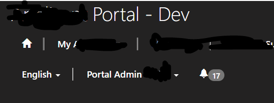 How to set a Notification / Message on Portal Pages - Microsoft