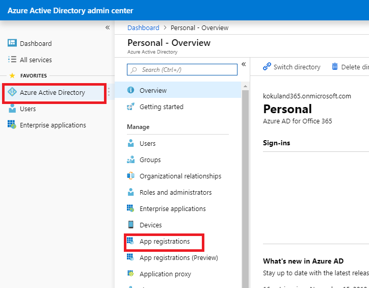 Do i need to have an azure account to use Dynamics CRM Web API