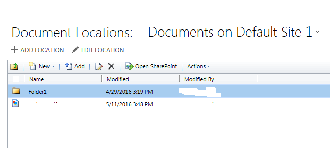 SharePoint Document iframe on the form - Microsoft Dynamics CRM