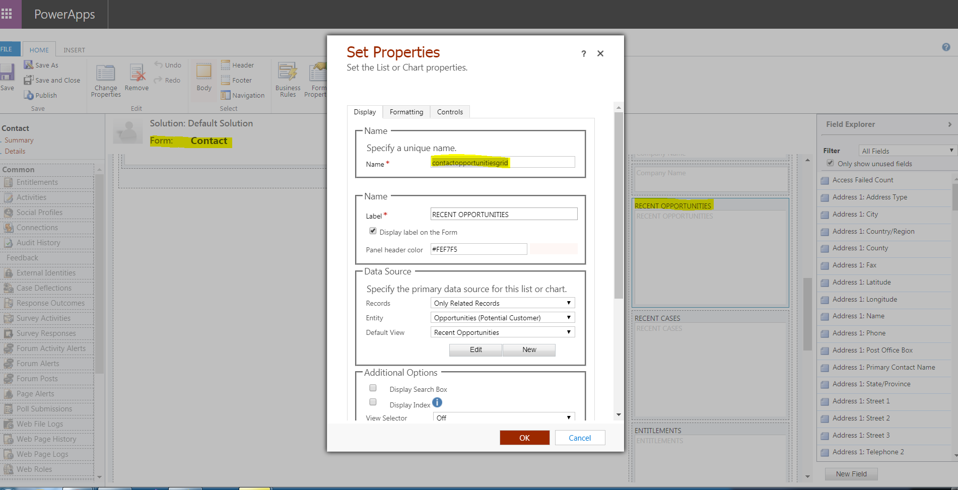 How get subgrid name - Microsoft Dynamics CRM Forum