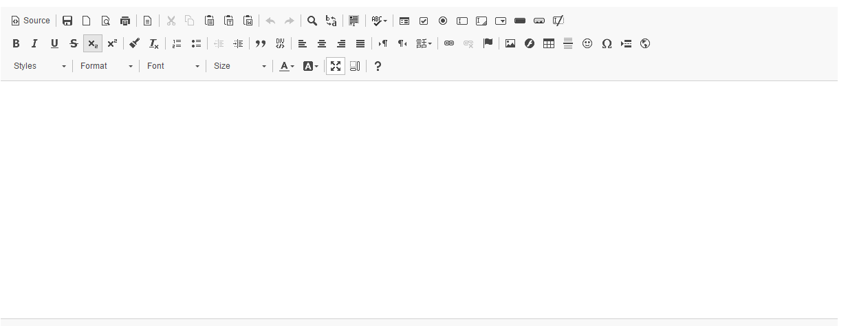 Adding custom buttons to the CKEditor in Email Form