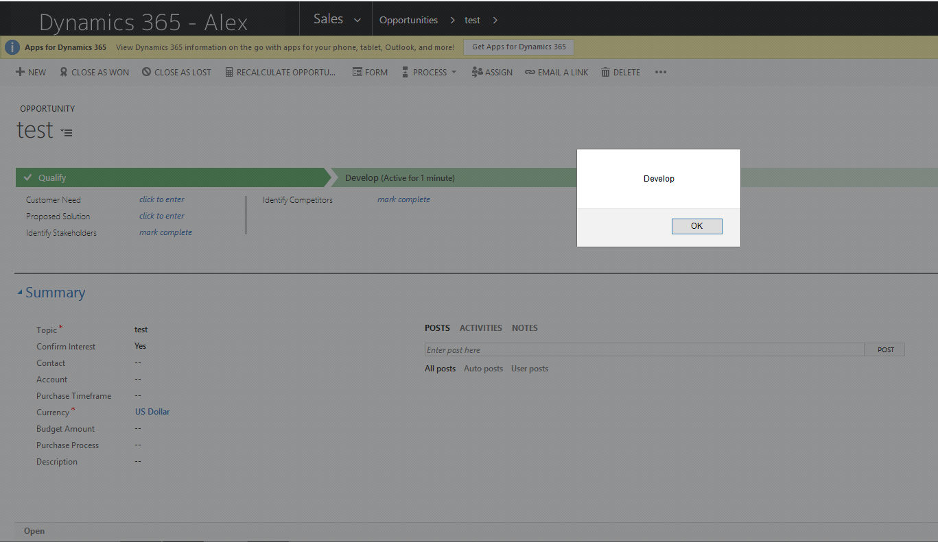 View StageID of Opportunity stages - Microsoft Dynamics CRM Forum