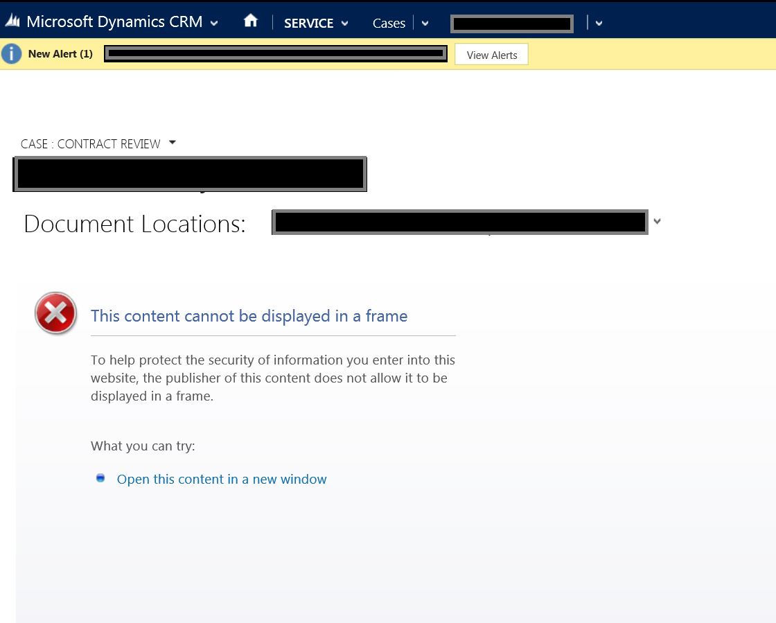 Imported SharePoint Document Location doesn't work