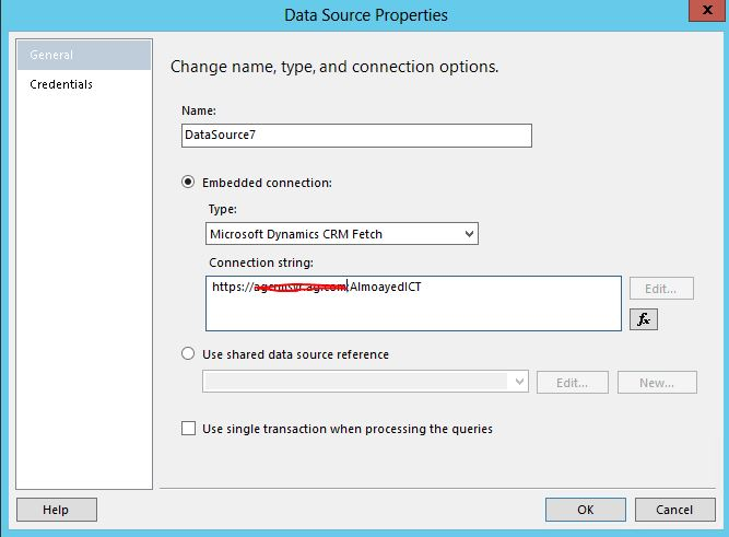 bids unable to connect to data source crm on premise 2013
