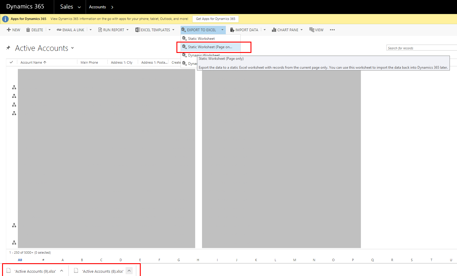 Issue exporting to excel from Chrome - Microsoft Dynamics CRM Forum
