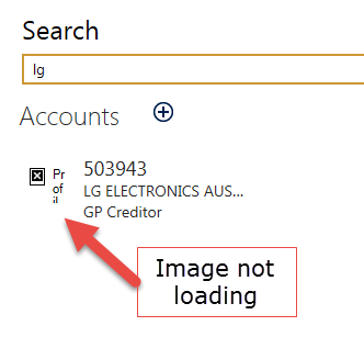 Displaying photo in Global Search - Microsoft Dynamics CRM Forum