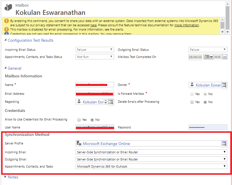 Server Side Sync for CRM 2016 On PRemise -- Can we stop the