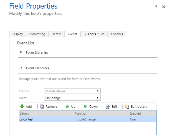 Microsoft Unified Interface does not fire an onChange or onLoad