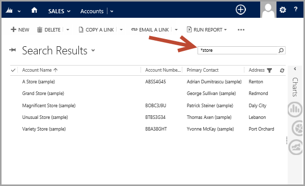 Search By Partial Project Number Issue in crm 2013 - Microsoft ...