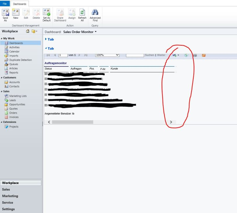Wrong rendering of SSRS report in iFrame - Microsoft