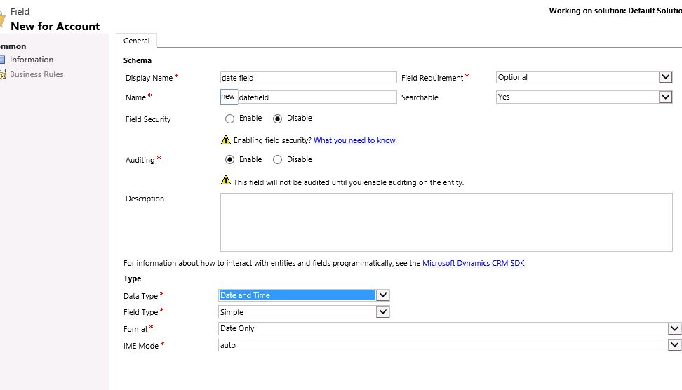 Number field without comma and dot - Microsoft Dynamics CRM