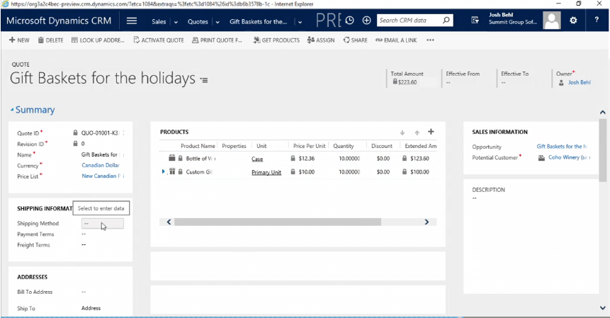 How To Change Background Color In CRM 2016