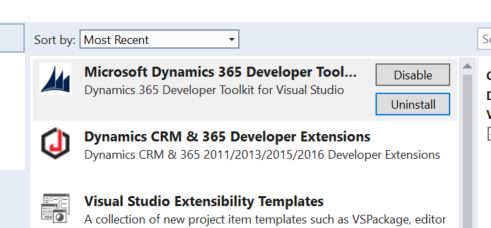 Visual Studio 2017 - Dynamics 365 SDK cant connect to server