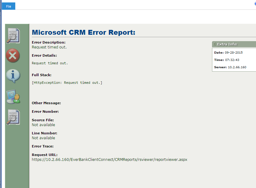Custom Reports timing out after upgrading to CRM 2015