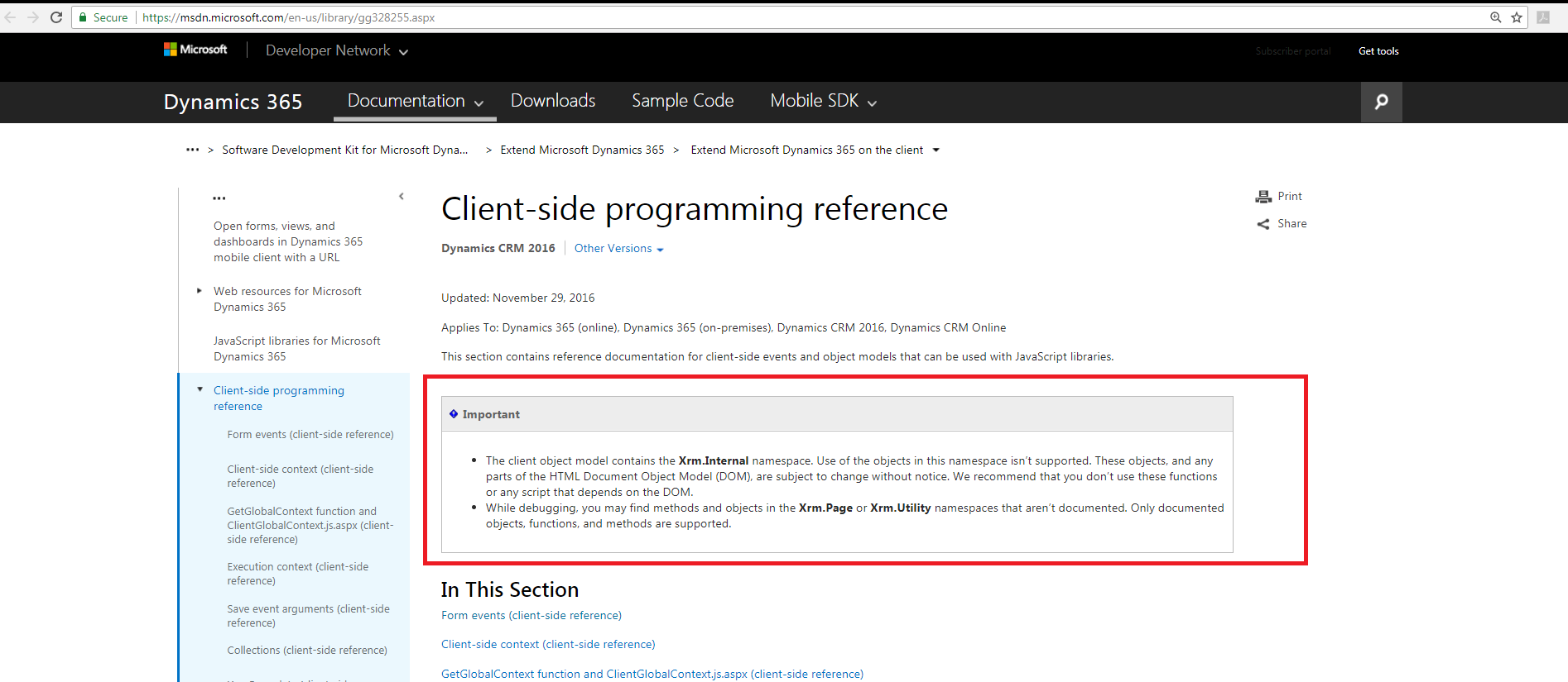 passing entity id to CRM dialog gives access denied error