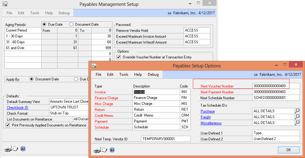 Automating Payable in VB Net - How to check for Duplicate Invoice