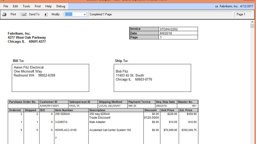 how to add discount to quickbooks invoice