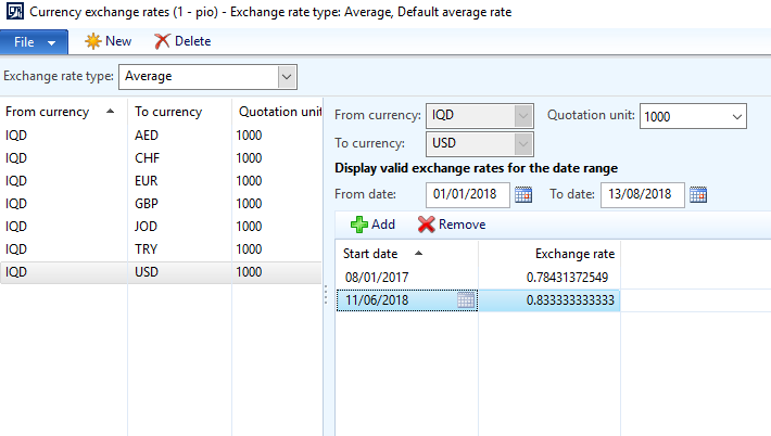Help with Exchange rate loss - Microsoft Dynamics AX Forum Community Forum