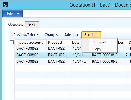 Confirm Sales Quotation  Microsoft Dynamics Ax Community Forum