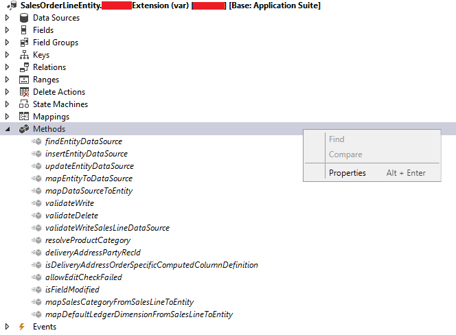 Can't add methods to data entity extension for computed columns