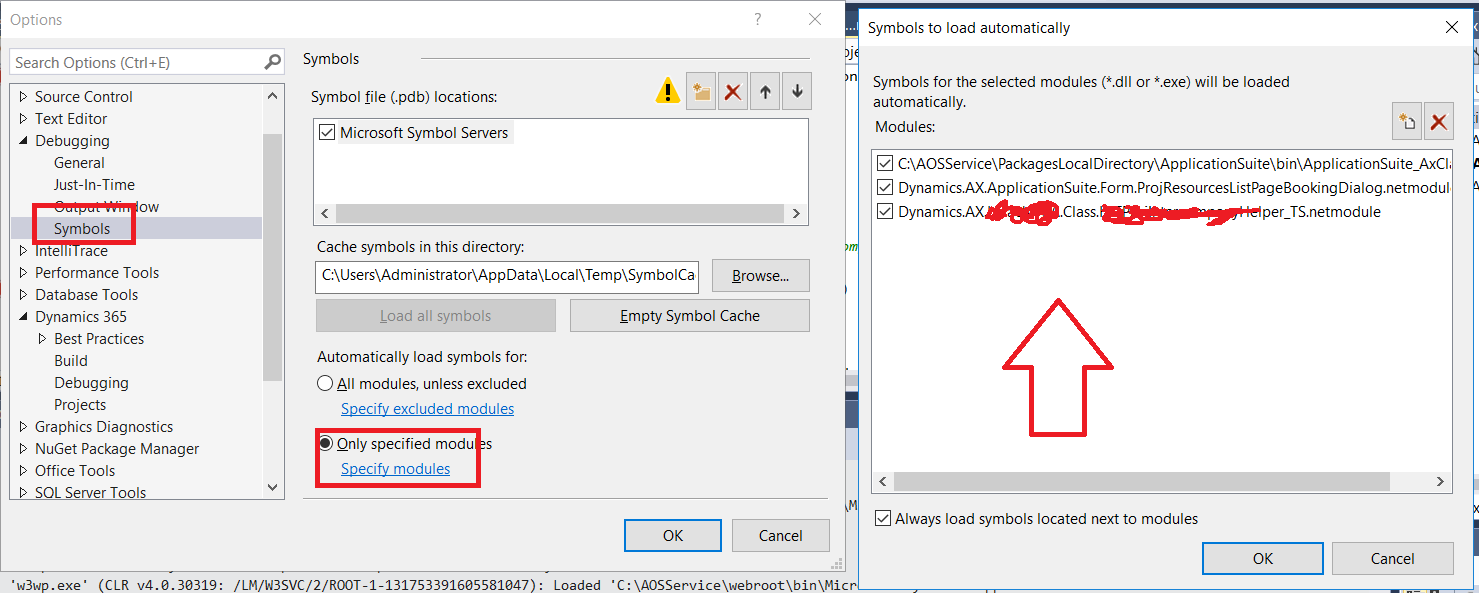 Debugger problem in D365 - Dynamics 365 for Finance and
