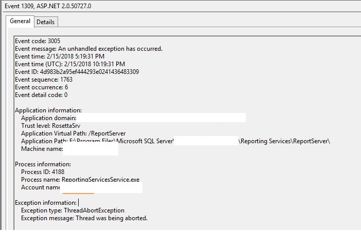 AX SSRS report export to excel error  - Microsoft Dynamics AX Forum