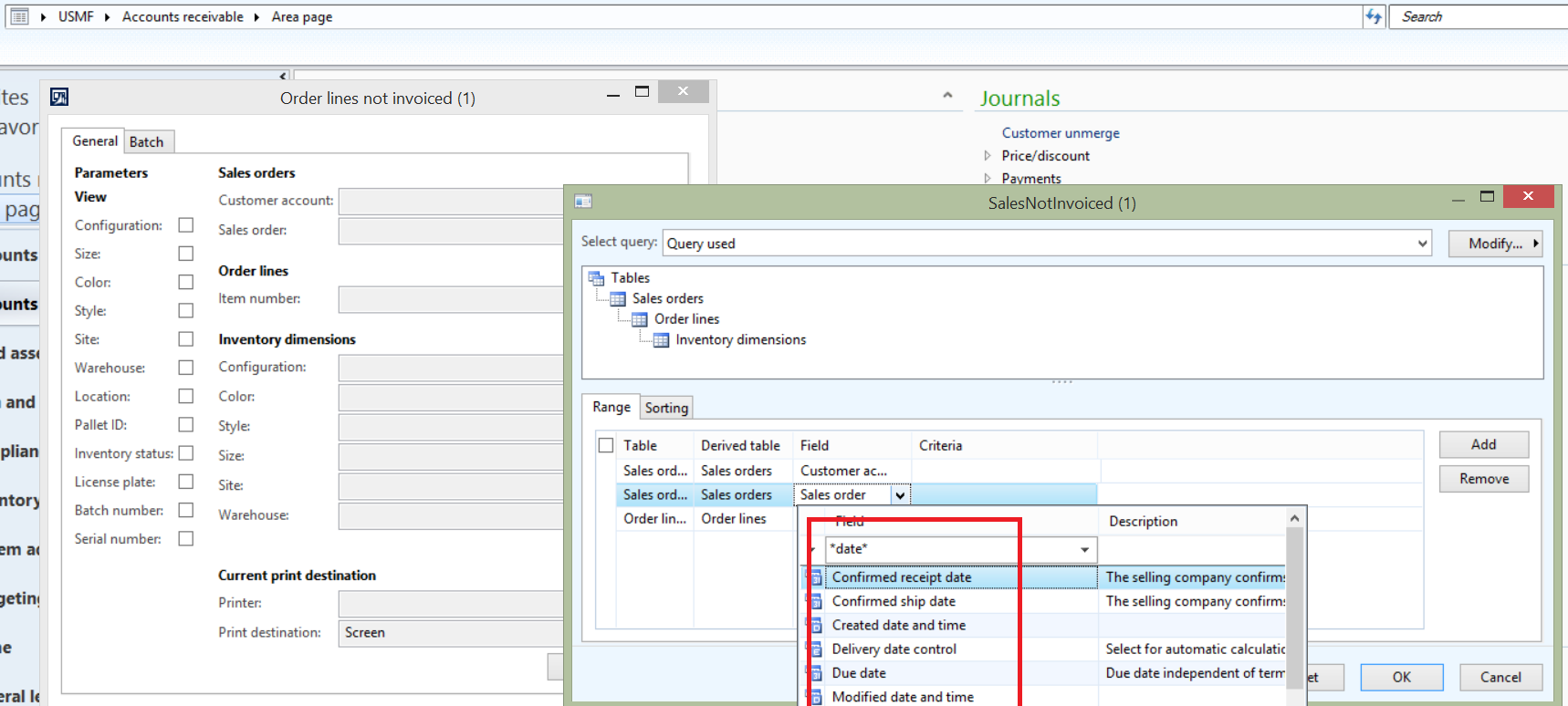 Sales order line not invoice report - Microsoft Dynamics AX Forum