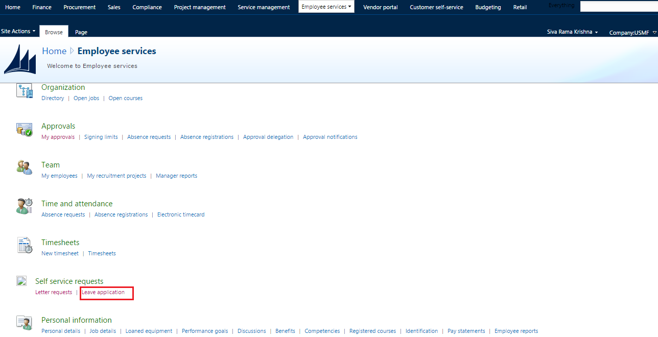 Ax pre requisites to install dynamics ax 2009 and enterprise portal - I Am Getting Below Error While Opening List Page In The Above Screen Shot Leave Application From Employee Services Module In Ep