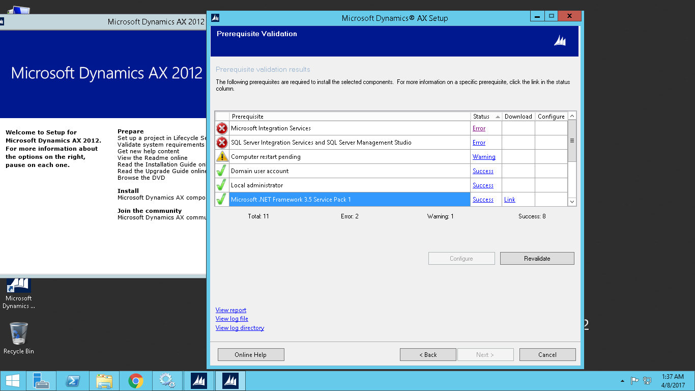 Ax pre requisites to install dynamics ax 2009 and enterprise portal - Note Both Are Already Installed Tags Microsoft Dynamics Ax