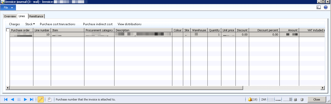 Purchase Order Invoiced But Still Open Order Status - Microsoft ...