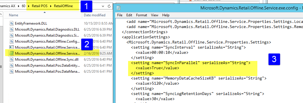 Offline Sync Service is using high CPU at a regular interval