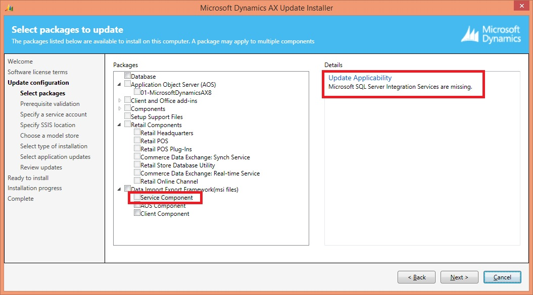DIXF Service Component Missing - Microsoft Dynamics AX Forum