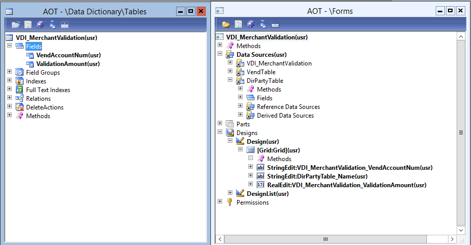Create form join source microsoft dynamics ax community for 1005 can t create table